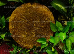 Tea seed cake without straw