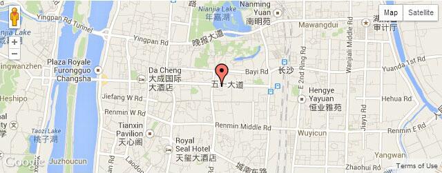 Xian Shan Yuan Map